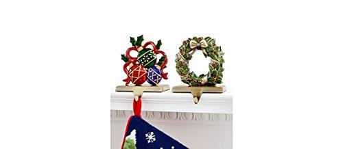 Holiday Lane Enamel Stocking Holder(Ornament)