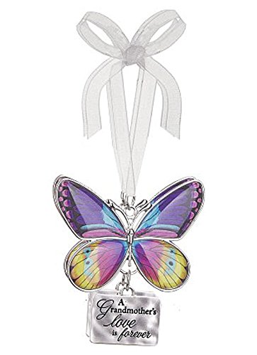 A Grandmother's Love is Forever Metal Butterfly Ornament – By Ganz