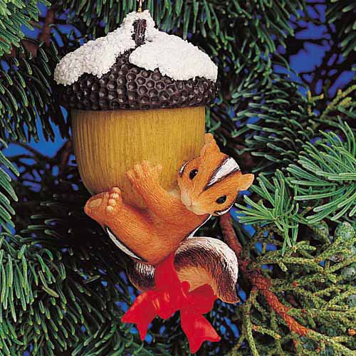 Christmas Nut Charming Tails Ornament 86128