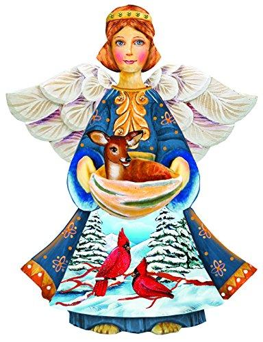 G. Debrekht The Angel Deco Ornament