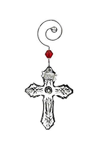Waterford 2016 Mini Cross Ornament