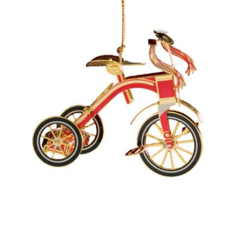 Baldwin Red Tricycle Ornament by Baldwin