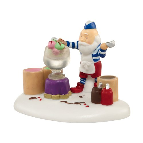 Department 56 North Pole Series Village The Santa Palooza Masterpiece Village Accessory, 1-3/4-Inch
