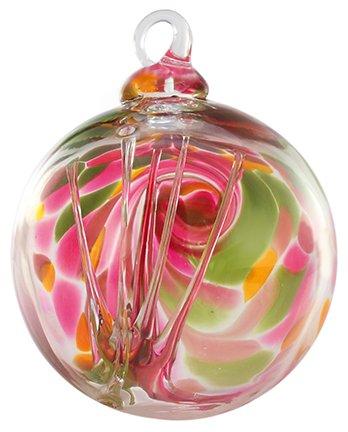 Glass Eye Studio 3″ Tulip Mosaic Spirit Ball