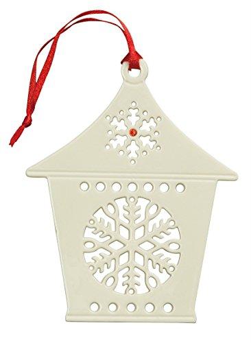 Belleek Snowflake Lantern