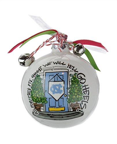 """As For Me And My House"" Holiday Ornament (North Carolina Tarheels)"
