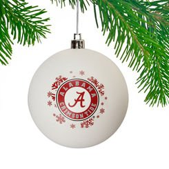 Alabama Crimson Tide Shatterproof Ornament