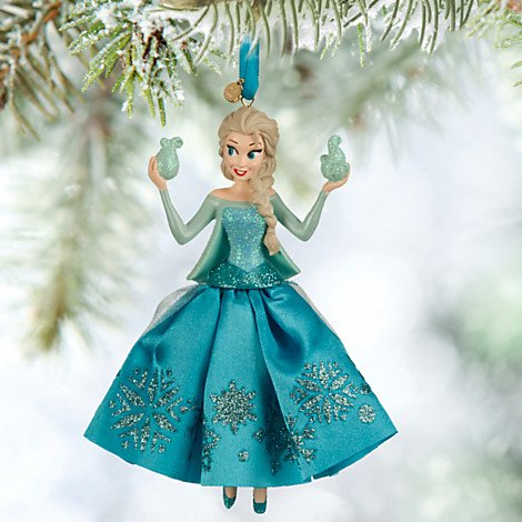 Disneys Frozen Elsa Sketchbook Christmas Tree Ornament