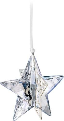 Swarovski Crystal Moonlight Christmas Ornament Star