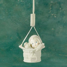 Dept 56 Snowbabies **From God, 2005 Ornament** 69242