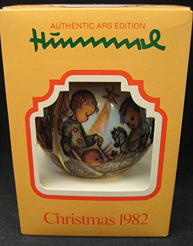 Hummel Christmas 1982 Satin Ball Ornament by Ars Edition