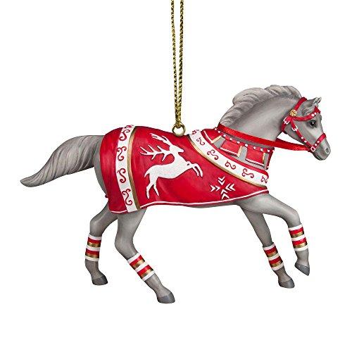 Enesco Trail of Painted Ponies Crimson Joy Ornament, 3″