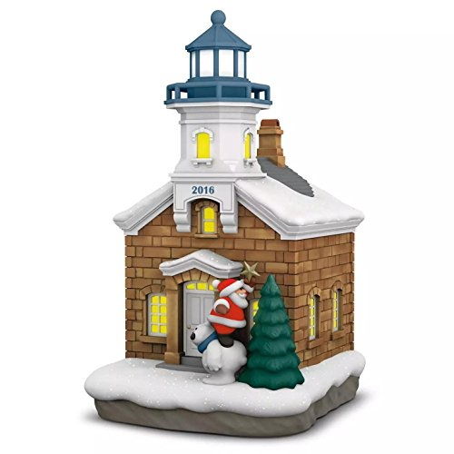 Hallmark 2016 Christmas Ornaments Holiday Lighthouse – 5th Series