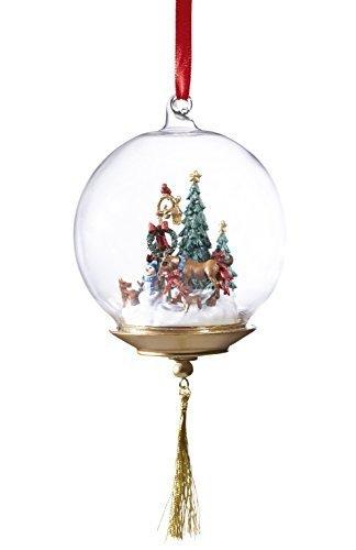 Breyer First Holiday Glass Globe Ornament by Breyer