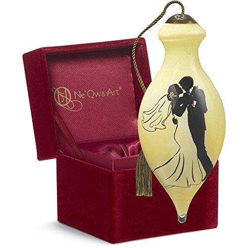Ne'Qwa Art Wedding Gift, Dona Gelsinger Wedding Dance, Glass, 7161198