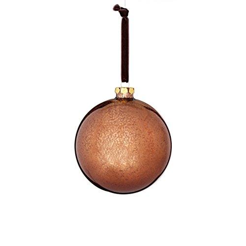 Sage & Co. XAO20181BR Glass Mercury Finish Ball Ornament (4 Pack)