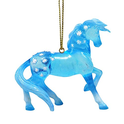 Enesco Trail of Painted Ponies Snow Queen Ornament, 2.5″