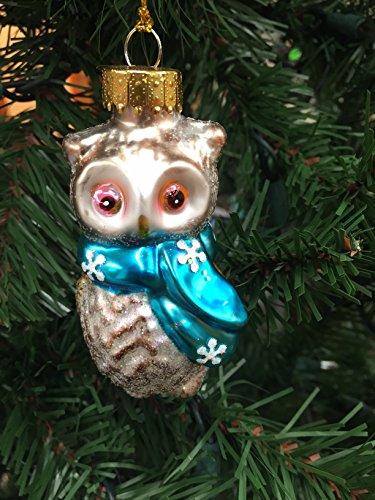 Holiday Lane Owl Christmas Ornament