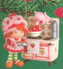 Strawberry Shortcake Ornament Cooks up some Holiday Fun
