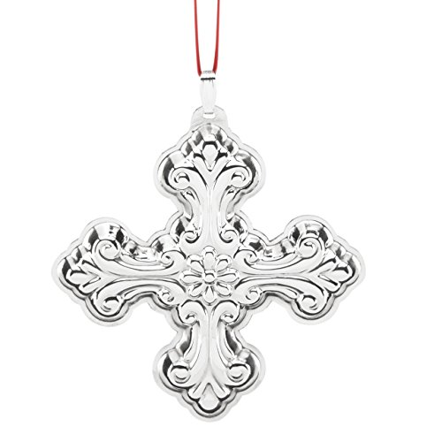 Reed & Barton Best of The Season Christmas Cross Ornament