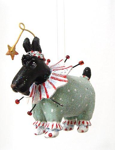 Department 56 Krinkles Mini Circus Dog Christmas Ornament #36600