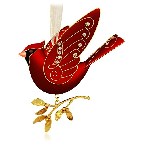 Ruby Red Cardinal Premium Ornament 2015 Hallmark