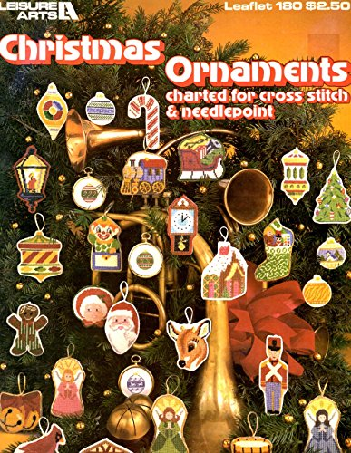 {Cross Stitch} Christmas Ornaments: Charterd for Cross Stitch & Needlepoint {Leisure Arts Leaflet 180}