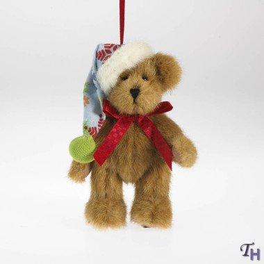 Boyds Bears Frostberg Fashion Family Plush Ornament – Fargo Bear 5″