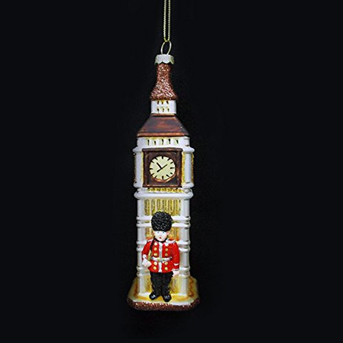 Kurt Adler 6″ Glass Big Ben Ornament