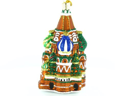 Old World Christmas Saint Basil's Cathedral, 5″ Glass Ornament, 1