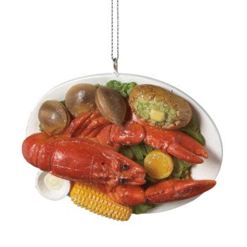 MIDWEST CBK Seafood Dinner Christmas Ornament