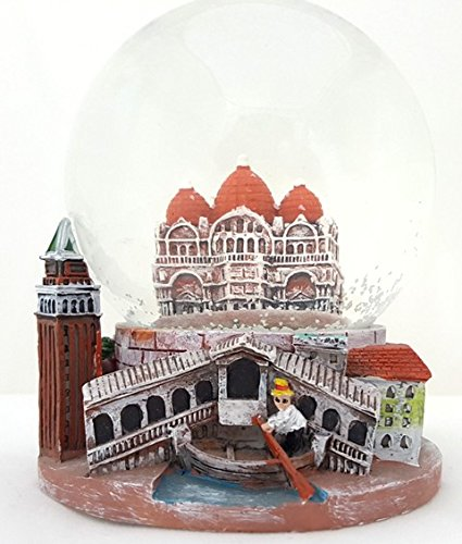 "Italian venice Snow Globe Souvenir (""Top Quality, DM Engraved"")"