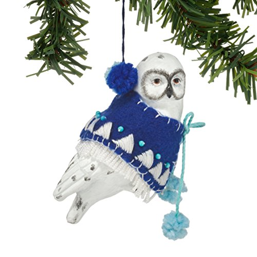 Department 56 Gallery Snowy Owl Ornament