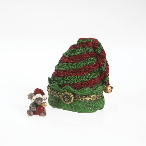 Boyds Elvie's Hat with Twinkle McNibble Treasure Box