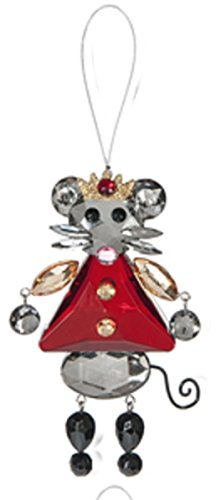 Crystal Expressions Classic Holiday Ornament: King Mouse – By Ganz