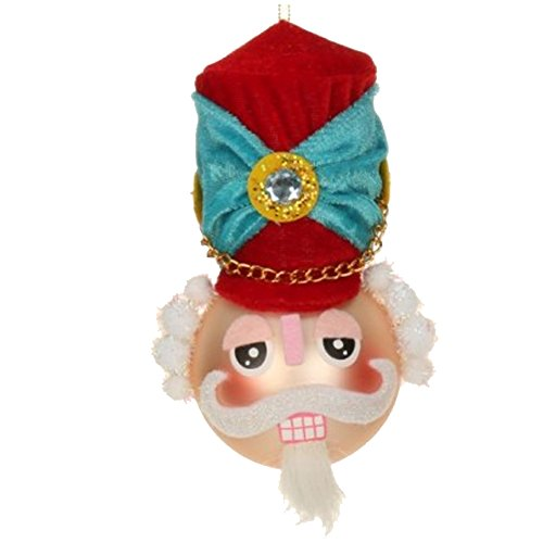 Nutcracker Bust Christmas Ornament 36-43807-A Mark Roberts
