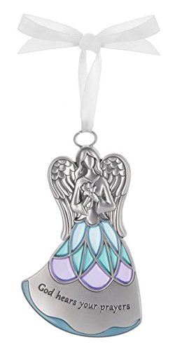 God Hears Your Prayers – Guardian Angel Ornament by Ganz