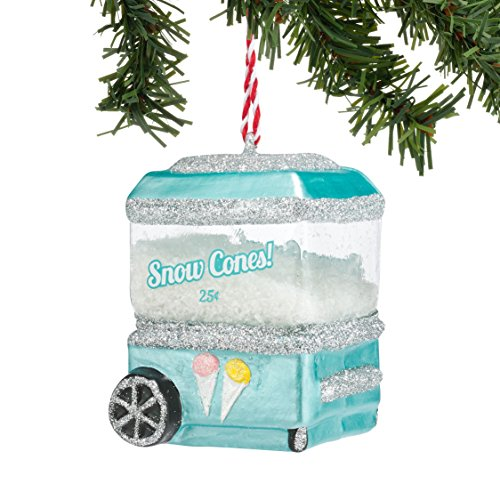 Department 56 Welcome to Snowville Snowcone Cart Ornament