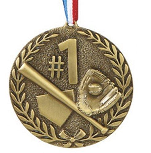 #1 Baseball Sports Medal Ornament