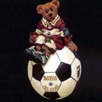 "Boyds Bearstone Collection ""Rocky – Score, Score, Score"" Ornament"