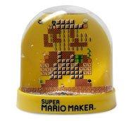 Limited edition super Mario maker snow globe