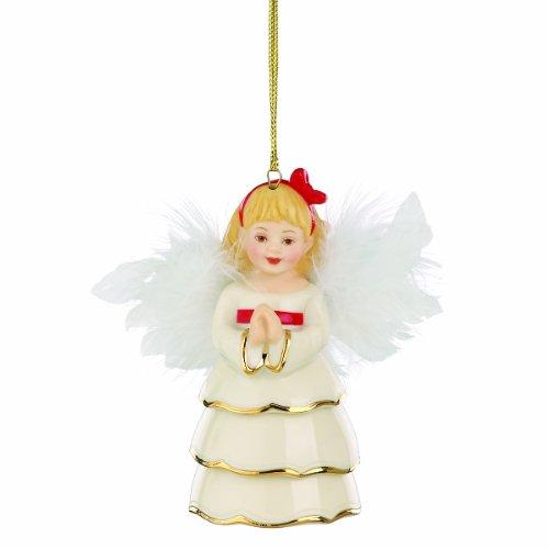 Lenox Wings of Grace Angel Ornament