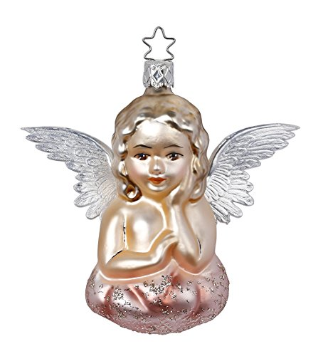 Romantic Angel, #1-114-16, from the 2016 Vintage Romance Collection by Inge-Glas Manufaktur; Gift Box Included