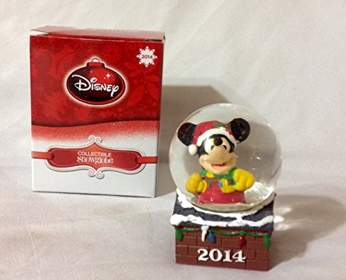 Disney Collectible Snowglobe Mickey Mouse 2014