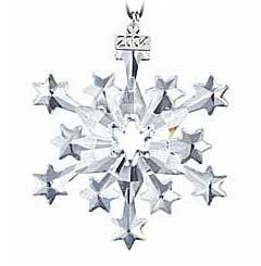 Swarovski 2004 Annual Christmas Snowflake Ornament S2004ORN