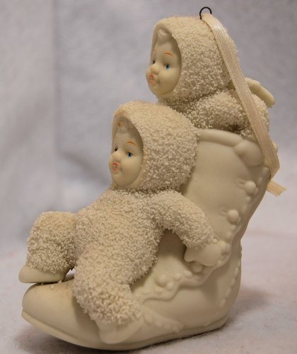 Department 56 Snowbabies One Two High Button Shoe Figurine
