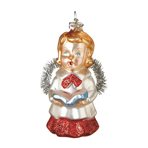 Beautiful Glass Angel Christmas Ornament