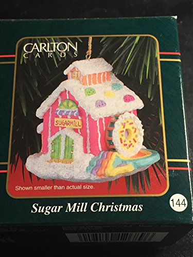 Carlton Cards Ornament Sugar Mill Christmas