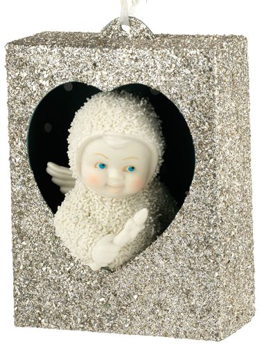 Snowbabies Dream Light The Way Box Ornament, 3.5-Inch