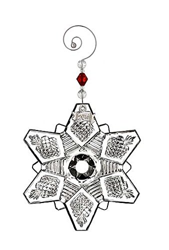 Waterford 2016 Annual Snow Crystal Pierced Ornament